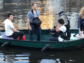 Behind the scenes on the latest @shawnmendes video. We were proud to be a part of the team along with London producer@calgordon @burningreel & thanks to everyone for there great work.